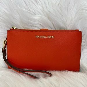 🧡Michael Kors🧡Double Zip Wristlet / Wallet